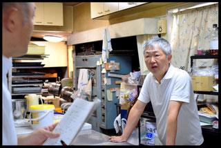 島田シェフと小玉経営支援員との対談
