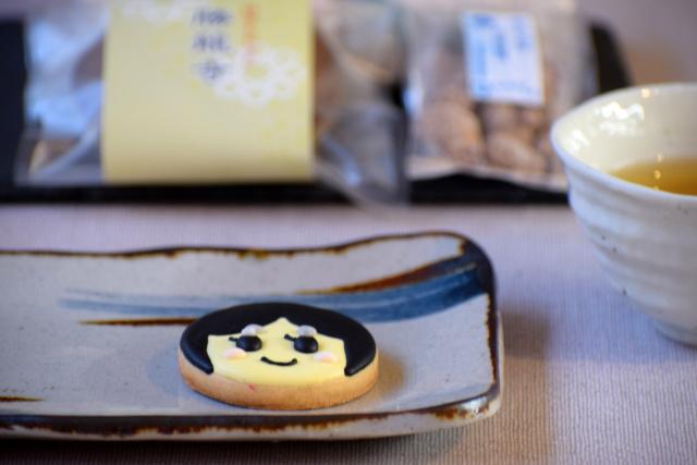 チマ・カフェの『お玉ちゃんクッキー』